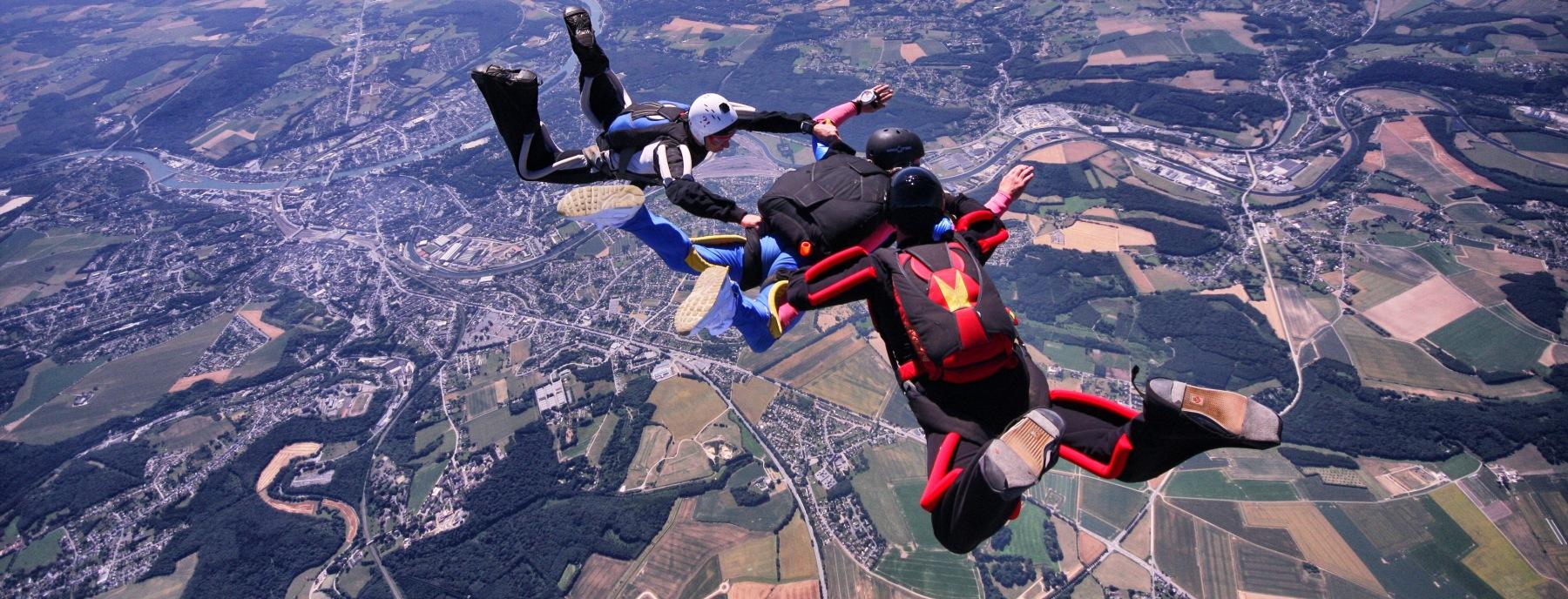 parachutisme namur
